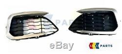 Bmw New Genuine F20 F21 LCI M Sport M140 M135 Front Bumper Grills With Trims