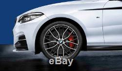 Brand New Genuine BMW 19 405M Style Wheels & Tyre Set 36112459625 1,2 Series