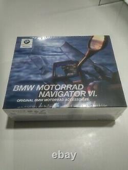 Brand New Genuine BMW Motorrad Navigator 6 VI SAT NAV 77528355994 SAVE £153