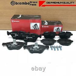 FOR BMW 5 SERIES 518d 520d 525d F10 F11 FRONT REAR GENUINE BREMBO BRAKE PADS SET