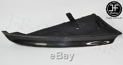 Fits Bmw 1 Series E87 E81 04-13 Sport Bumper 2x Genuine Carbon Fiber Splitters