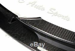 For 12-18 BMW 3-Series M-Sport M-Tech F30 F35 Real Carbon Fiber Front Bumper Lip