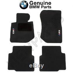 For BMW E36 3 Series M3 Sedan Coupe 1994-1999 Floor Mats Black Genuine