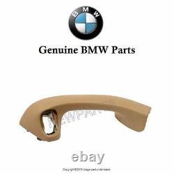 For BMW E36 Z3 96-02 Inside Door Pull Handle Beige Driver Left Side Genuine