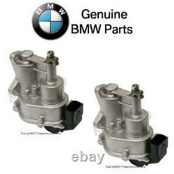For BMW E60 E63 E64 M5 M6 Pair Set of 2 Throttle Actuators GENUINE 13627834494