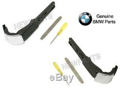 For BMW E92 3-Series Coupe Pair Set of 2 Front Seat Belt Extender Arms Genuine