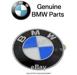 For BMW Wheel center cap Emblem insignia badge 64.5mm GENUINE 36 13 6 767 550
