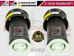 For Bmw X5 E70 X6 E71 Rear Suspension Air Spring Bag Set Pair Genuine Dunlop