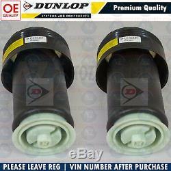 For Bmw X5 E70 X6 E71 X5m X6m Rear Air Suspension Bags Genuine Dunlop Pair Lh Rh