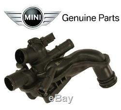 For Mini Cooper R55 R56 Coolant Thermostat with Housing Genuine 11-53-8-699-290