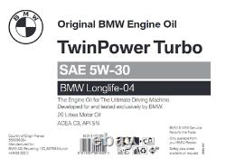 GENUINE BMW / MINI Engine Oil Longlife-04 SAE 5W-30 20 Litres 83215A383D2
