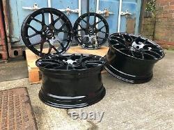 Genuine Aluwerks Dtm Bmw 3 Series 403m Sport F30/31 Black 19inch Alloy Wheels