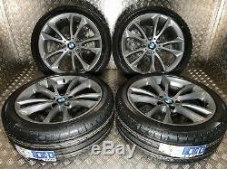 Genuine BMW 5 Series 366 F10 19 Alloy Wheels + NEW Tyres M Sport F11 F06 F12
