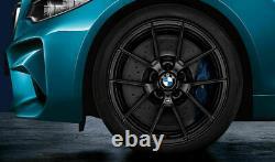 Genuine BMW 763M M3 M4 Wheel and Tyre Set Matt Black M Performance 36112449763