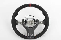 Genuine BMW F30 F32 F33 F22 M Performance Alcantara Steering Wheel II Red Stripe