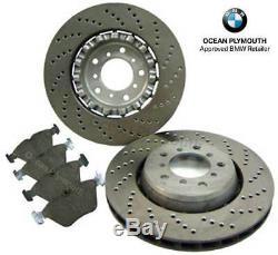 Genuine BMW Front Brake Discs, Pads & Sensor BMW M3 E46