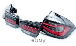 Genuine BMW M Performance Black Rear Lights 3 Series F30 M3 F80 63212450105