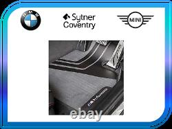 Genuine BMW M Performance Car Carpet Floor Mats Front Set F10 F11 51472365218