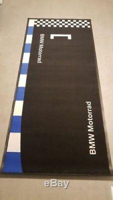 Genuine BMW Motorrad Motorcycle Carpet Mat 77022414857