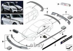 Genuine BMW Rear Boot Spoiler Matt Black 3 Series F30/F30 LCI 51192450138