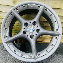 Genuine BMW Z4 BBS Split 18 Style 108 Staggered BBS Split M Sport Alloy Wheels