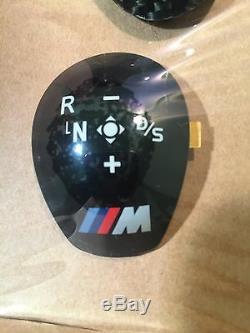 Genuine Bmw M Performance Gloss Carbon Trim For Dct Gear Stick Knob M2 F87