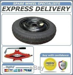 Genuine Bmw X5 E70, F15 (2007-2017) 18 Space Saver Spare Wheel And Tool Kit