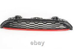 Genuine MINI F56 3DR Front Vent Grill Chili Red OEM 51137393456