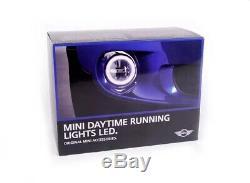Genuine MINI L. E. D Daytime Running Lights DRL Kit R55 R56 R57 63122338554