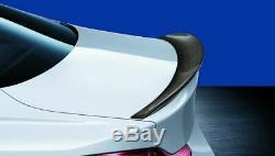 Genuine M Performance BMW 4 Series Coupe F32 Carbon Fibre Rear Spoiler 2334545