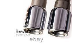 Genuine Mini F56 Jcw Pro Exhaust With Chrome Trims 18302407322