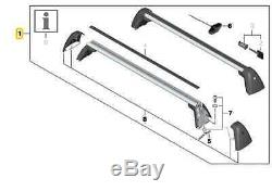 Genuine OEM BMW Roof Rack Bars Railing Carrier 3-Series 2012+ F30 F80 M3 F34 GT