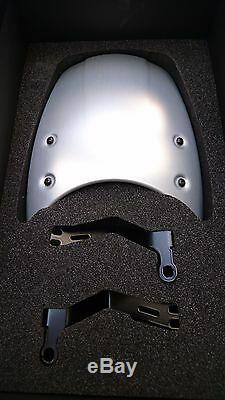 Genuine Rizoma Bmw R9t R Nine T Screen Headlight Fairing Billet Aluminium Silver