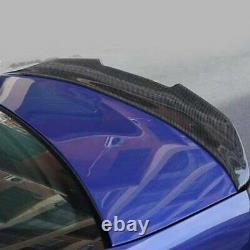 High-Kick Real Carbon Fiber Rear Trunk Spoiler Wing 2005-12 BMW E90 Sedan E90 M3