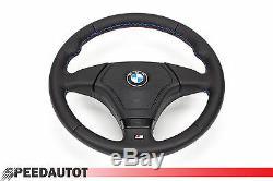 Leder Lenkrad Lederlenkrad BMW M3 E46 Steering Wheel mit Airbag