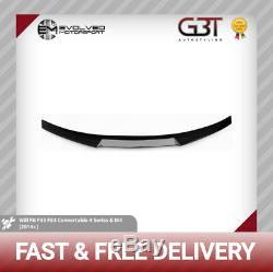 M4 Style BMW 4 series Carbon Fibre Spoiler 2014+ F33/F83 convertible Real Carbon
