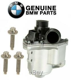 NEW Electric Engine Water Pump & Bolts Genuine For BMW E60 E82 E88 E89 E90 E92