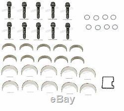 NEW For BMW E90 E92 E60 E63 M3 M5 M6 Connecting Rod Bolt+Rod Bearing+Gasket
