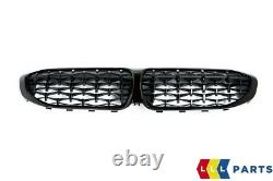 NEW GENUINE BMW M PERFORMANCE G20 M340i HIGH GLOSS FRONT KIDNEY GRILLE