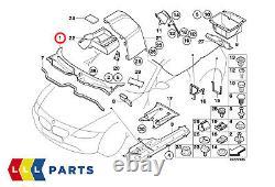 New Bmw Genuine Z4 Series E85 E86 Front Windscreen Wiper Cover Trim Panel Rhd