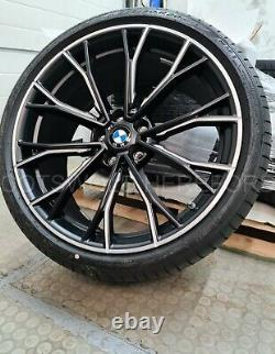 New Genuine BMW M Performance 669 M Wheels With Tyres G30 G31 36112420426