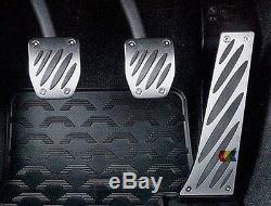 New Genuine Bmw 1 3 5 6 X1 X3 X5 Z4 Bmw Performance Pedal Set-aluminium Rhd