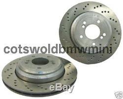 Pair Of Brand New Genuine BMW E46 M3 Rear Brake Discs 34212282303 34212282304