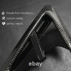 Real Carbon Fiber Fender Light Trim Side Grille For BMW X3 G01 X4 G02 2018 2019