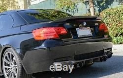 Real Carbon Fiber Performance Boot Trunk Spoiler for BMW 3 series E92 E93 and M3