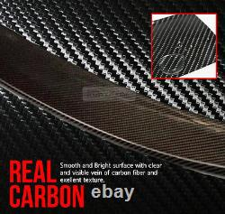 Real Carbon Fiber Rear Roof Spoiler For BMW 2009-2017 X Drive-Series E84 SUV X1