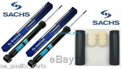 SACHS BMW E46 E36 M SPORT Rear Suspension Shock Absorber Dampers + Dust Stop Kit