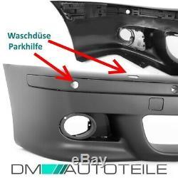 Sport Stoßstange vorne SRA/PDC LACKIERT+Nebel Set passt für BMW E39 +ABE nicht M