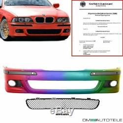 Sport Stoßstange vorne SRA/PDC LACKIERT+Zubehör passt für BMW E39 +ABE nicht M