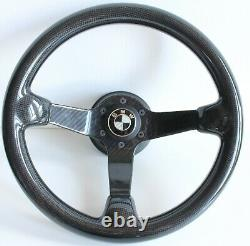 Steering Wheel fits BMW Carbon Fiber FULL Real E24 E28 E30 E32 E34 1985-1991